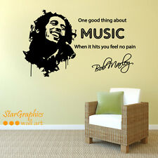 Buy music lyrics wall art ebay bob marley music song lyrics quote wall art vinyl decal sticker mural publicscrutiny Choice Image