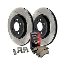 For Chevy Silverado 1500 06-18 StopTech 937.66015 Street Slotted Front Brake Kit