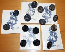 14 Buttons for Vintage or Antique Doll Clothes Sewing Making