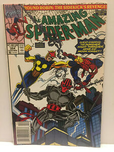 1991 Marvel Amazing Spider-Man with Nova, Punisher & Moon Knight #354