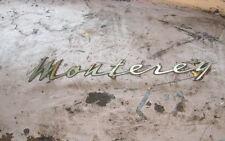1962 mercury monterey quarter panel script custom rod
