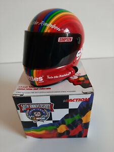 Skittles Racing Team - Action Mini Helmet 1:4 - NASCAR 50th Anniversary Edition