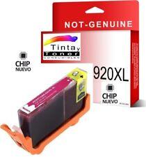 Cartucho De Tinta Magenta Rosa HP 920 Xl Officejet 7000a 7500a CD973AE nonoem