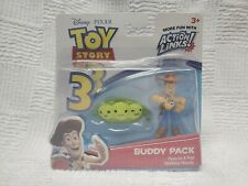 "Disney Toy Story 3 BUDDY PACK Peas in A Pod Walking Woody 2.5"" Figures 2009 NEW"