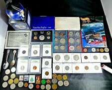US Coin Collection Lot Silver Kennedy Indian Heads Buffalo, Wheat Cent Roll More