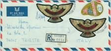 83840 - Sierra Leone - Self-Adhesive stamps on COVER 1969 - EAGLE birds DIAMONDS