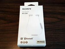 Sony WI-C300 Stamina Wireless In-Ear Headphones Bluetooth White WIC300W *NEW #12