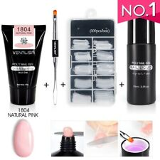 Nail Art French Nail Constraction Builder Jelly PolyGel Brush Acrylic Slip Solut