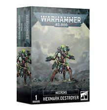 Warhammer 40000 Necrons Hexmark Destroyer Games Workshop Release