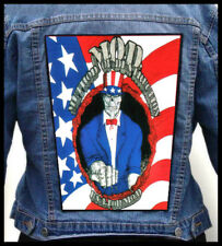 METHOD OF DESTRUCTION - USA For MOD   --- Giant Backpatch Back Patch