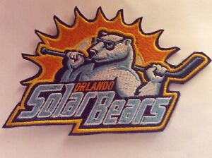 Patch Orlando Solar Bears Ice Hockey Minors League Florida
