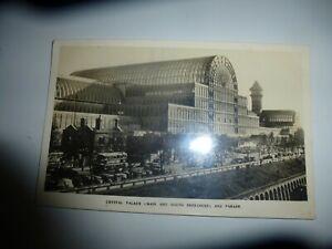 Crystal Palace Main & South Entrance & Parade Animated RPPC P/M c1932 Talbot