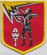 AWTI Air Weapons Training Installation RAF Embroidered Badge Patch  MOD Approved