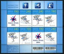 2010. Kazakhstan. Sport. 7th Asian Winter Games 2011. Pane. MNH. Sc.633