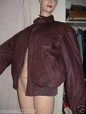 Vintage Members Only Burgandy Jacket  or coat size 44