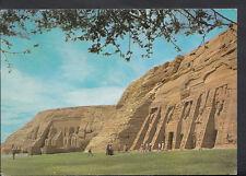 Egypt Postcard - Abu Simbel - General View of The Temple Abu Simbel B3046