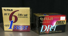 FUJI Audio Cassette Tapes Blank New Sealed DR-I 60 Minute Normal Bias Lot of 14