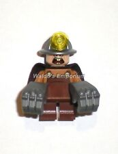 Lego The Incredibles Minifigure UNDERMINER from set 10760 Underminer Bank Heist