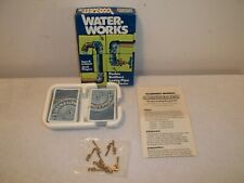Vtg Parker Brothers WATER WORKS Plumbing Leaky Pipe Card Game In Box Complete