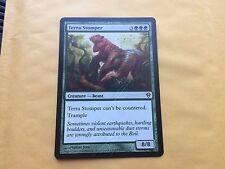 Misprint Terra Stomper PARTIALLY GLUED COMING APART MTG Magic Card