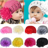 Fashion Infant Hat Baby Hair Toddler Girl Flower Headband Hair Band Headwear