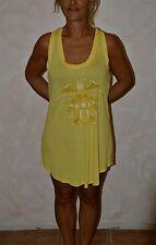 jolie robe jaune CHRISTIAN AUDIGIER eagle shield taille XS ** NEUVE ÉTIQUETTE **