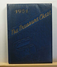 1951 Vernon L. Davey Junior High School Yearbook - Treasure Chest East Orange NJ