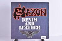 Saxon - Denim And Leather - Carrere - 2934138 - Vinyl