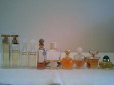Bulk Lot Of 10 Used Miniatures Women's Perfume Fragrances Dior, Lancome, Balenci