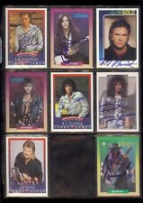 REB BEACH - Winger - 1991 RockCards SIGNED / AUTOGRAPH Trading Card
