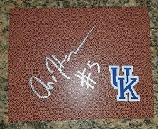 ANDREW HARRISON 'KENTUCKY WILDCATS' SIGNED 8X10 BALL LEATHER PICTURE *COA