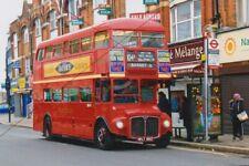 BUS PHOTO, LONDON ENSIGNBUS PHOTOGRAPH PICTURE, ROUTEMASTER