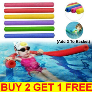 Child Adults Swimming Pool Noodle Stick Hollow Water Float Aid Strip Foam Sticks