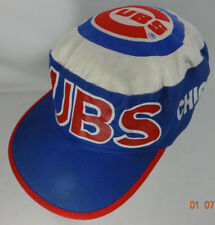 Chicago Cubs Vtg Pillbox Hat Twins Boston MA Official Licensee  MLB Baseball