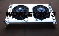 Aluminum radiator + Shroud Fan for Holden VT VX VU HSV Commodore V8 GEN3 LS1 5.7