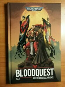 Bloodquest Volume 1 warhammer space marine blood angels hardcover graphic novel