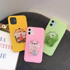 Catoon 3D Dynamic Quicksand Soft Phone Case Cover For iPhone 11 Max X XR Xs 6s 7