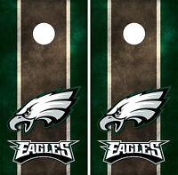 Philadelphia Eagles Cornhole Board Decal Wrap Wraps
