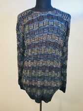 Tundra Canada 3-D Cotton Blend Sweater Cosby Biggie Coogi Like Sz Large
