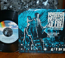 *<* STREETS OF FIRE 45: I CAN DREAM ABOUT YOU/BLUE SHADOWS CLEAN M- 45/PIC SLV!!