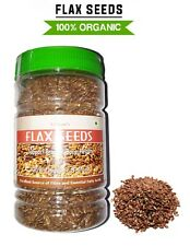 Pure & Organic Flax Seeds No Genetic Engineering,No Preservatives,Gluten Free UK