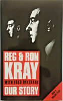OUR STORY by REG & RON KRAY - BRAND NEW MINT PAPERBACK BOOK The Krays
