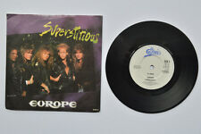 """EUROPE SUPERSTITIOUS 7"""" VINYL SINGLE IN PICTURE SLEEVE"""