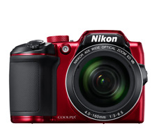 Nikon B500 Coolpix Digital Compact Camera - Red Coolpix  Compact Camera