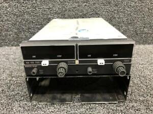 069-1024-31 Bendix KX155 VHF Comm / Navigation Rec W/ Tray & Glideslope 14V (JB)