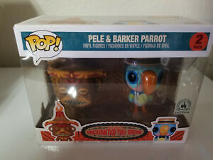FUNKO POP 2 PACK DISNEY PARKS EXCLUSIVE ENCHANTED TIKI ROOM PELE & BARKER PARROT