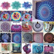 Indisch Mandala Tapisserie Wandbehang Wandteppich Yoga Matte Strandtuch Boho Dec