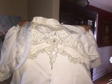 DaVinci Wedding Dress Size 18 With Shaper Inside And Corsel Behind And a Jacket