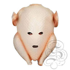 Latex Full Head Animal Christmas Turkey Chicken High Quality Fancy Party Masks