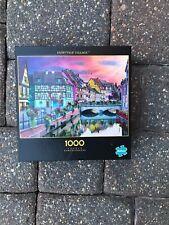 Buffalo Games 1000 Piece Puzzle Colmar Alsace, France Fairytale Village NEW 2019